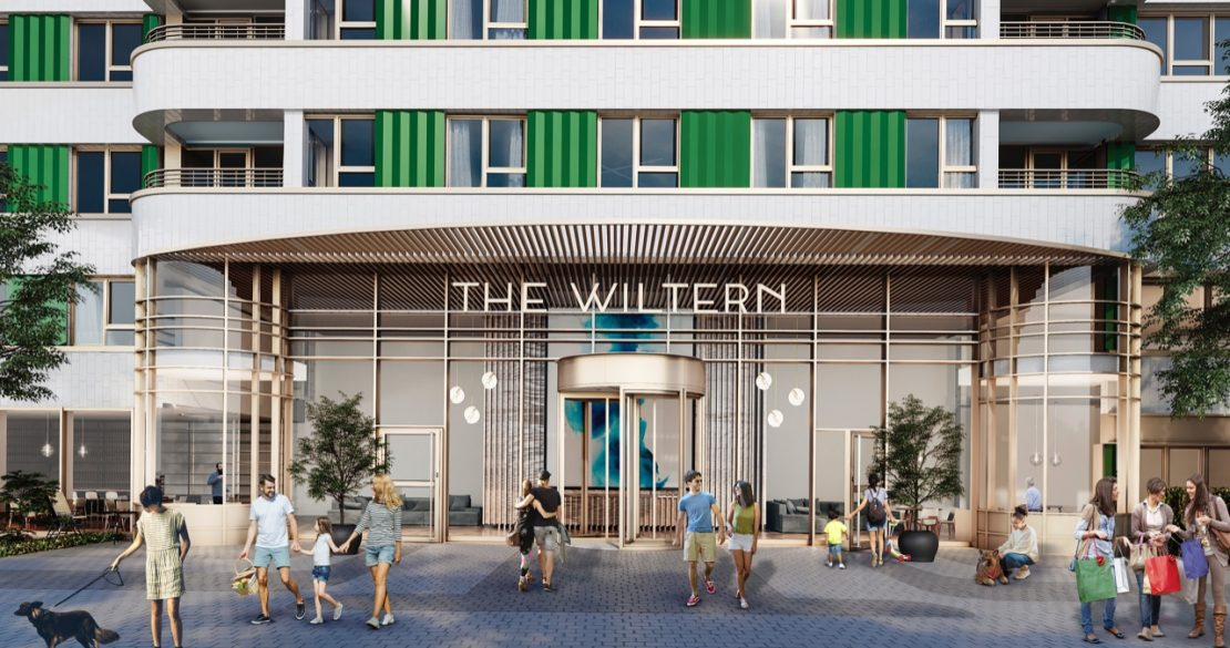 Entrance of The Wiltern Building by AMRO Living
