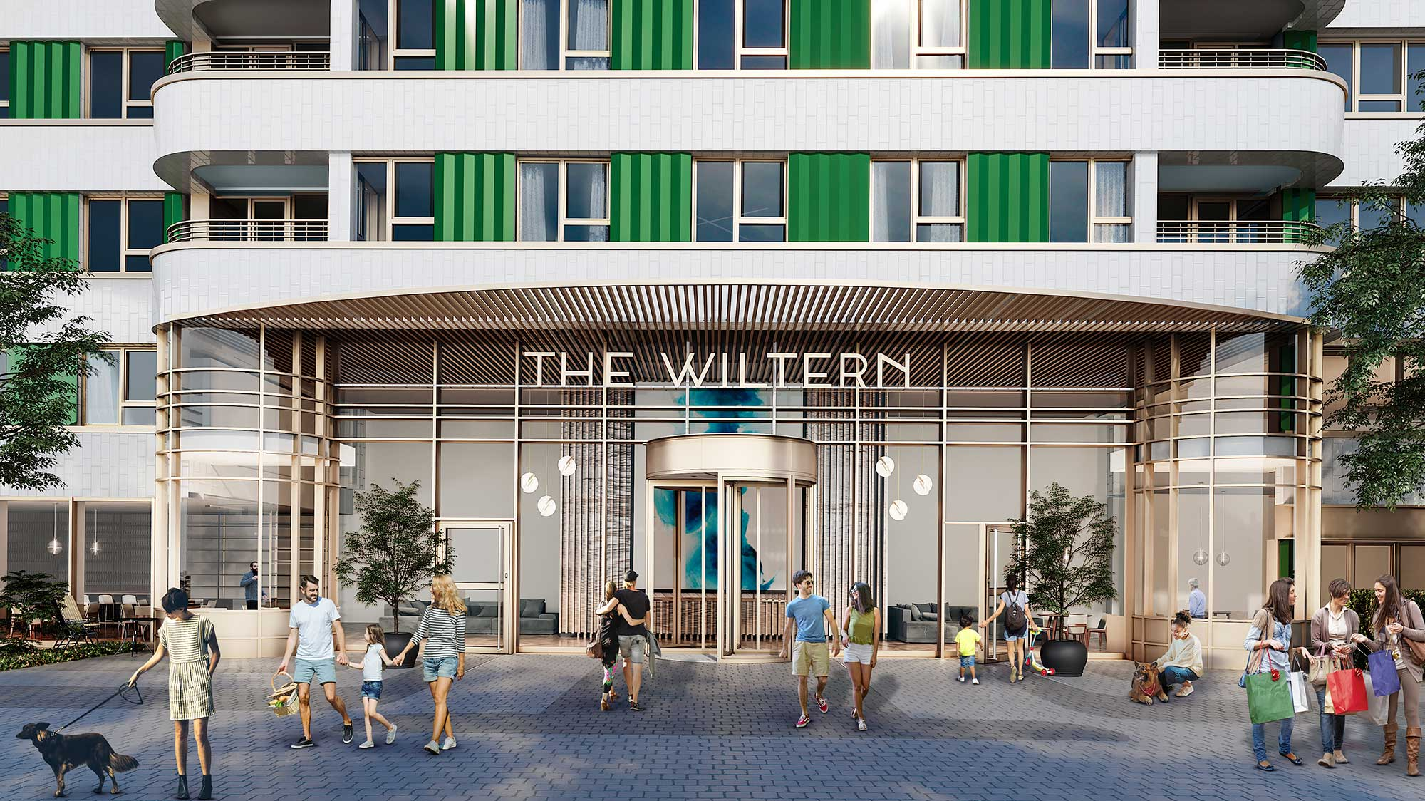 TheWiltern cgi front entrance - The Wiltern