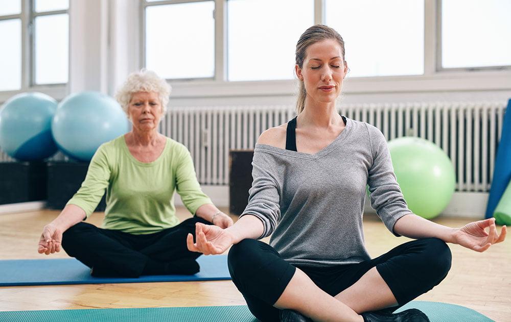 amroliving ladies doing yoga - Home